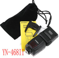 wholesale nikon - YONGNUO YN II YN LED Video Lights Flash Speedlite for Nikon D7000 D3000 D5100 YN468II pc
