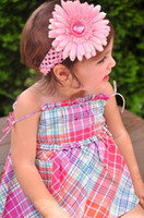 hair clipper accessories - Crochet head band girls Hair Accessories baby hair bow clip flower Headband clipper