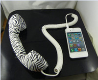 Wholesale Limited Edition Retro reduce radiation Phone Handset for Apple iphone S for New ipad ipad3