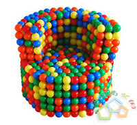Multicolor balloons play - 5 cm Colorful Ocean Ball Sand Toy Beach Ball Amusement Toys Balloon Play Castle Accessories Christmas Gift