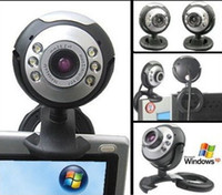 Wholesale 1pcs Hot Mini Webcam Mega USB LED Webcam Web Camera micro High quality