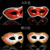 Wholesale hjr675 kinds of style Halloween mask Party masks Christmas masquerade masks Role play masks colors f7