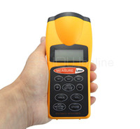 Wholesale Ultrasonic LCD Laser Point Distance Area Volume Measure Measurement Meter Feet New Y1003H