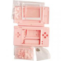 Wholesale Christmas Halloween Full Replacement Housing Case Shell for the NDS Lite NDSL console red black