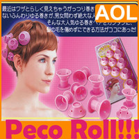 Wholesale 5pcs Peco roll Fashion curlers Rollers cm cm Peco roll Fashion curlers Rollers