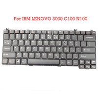 Wholesale Replaceable Laptop Keyboard For IBM For LENOVO C100 N100 Brand New US Layout Black N7229BL