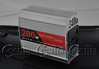 Wholesale DY DC V to AC V W Car Power Inverter USB Port SS108297 quality best new sale