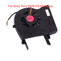 Wholesale Laptop CPU Cooling Fan For Sony Vaio VGN CS CS Series Free Shippping N00923