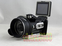 Wholesale HD9100 Full HD P MP Digital Video Camcorders Digita Camera DV Long focus wide angle DC hot