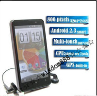Wholesale Newset H7300 GB MTK6573 WCDMA GSM Android Wifi GPS cell phone from wisdom888