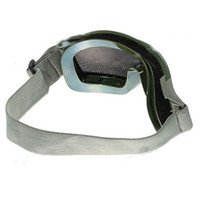 Wholesale Durable X Eye Protector Compact Mesh Wind Goggle Military Green