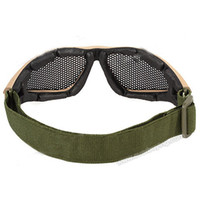 Wholesale Yellow Practical Design High safety Military Goggles Frame