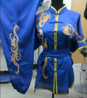 Wholesale good quality and beautiful dragon pattern kungfu uniforms
