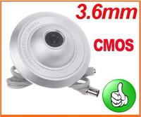 Wholesale 10pcs quot CMOS Ceiling UFO Flying Saucer PAL CCTV Security Surveillance Camera not ip camera S150