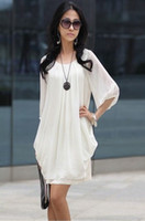 Wholesale Hot Sale Colors Sexy Fashion Chiffon Women s Dress Evening Dress Skirts one piece dress