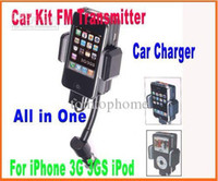 Mini USB   Wireless FM Transmitter FM Hands Free Car Kit Car Adapter Charger Remote control