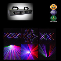 Wholesale 2012 mw Red Green Blue Purple RGBP Four Tunnel Laser beam DJ Light Disco Lighting Club Light DMX