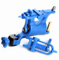 Wholesale Popular Butterfly Rotary Tattoo Machine Blue Swashdrive WHIP For Tattoo Kits Slide Adjustment Top
