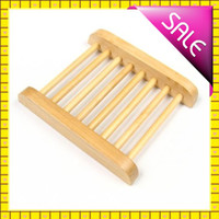Wholesale 20pcs Creative Wooden Soap Dishes Popular Bathroom Soap Tray Handmade Soap Prop Soap Holder Soapbox