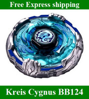 Wholesale New listing BeyBlade D Kreis Cygnus BB124 Metal Fusion Fight Masters Launcher kids toys
