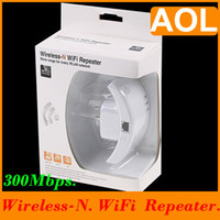 Wholesale Wireless N Wifi Repeater N Network Router Range Expander M EU Plug