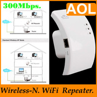 Wholesale Wireless N Wifi Repeater N B G Network Router Range Expander Mbps for tablet PC etc C1299