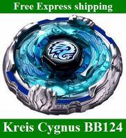 Wholesale Takara Tomy Beyblade BB Kreis Cygnus WD D System Metal Fusion kids toys dhl