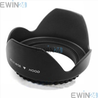 Canon wholesale nikon - 58mm mm Lens Hood Petal Crown Flower Shape For NIKON CANON Good Quality Hot Selling