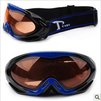 Wholesale Quality goods windbreak and prevent mist mountain ski goggles men and women with a fashion of skiing