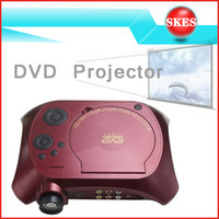 Wholesale Portable DVD Projector lumens HD P projector with DVD playback