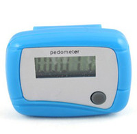 Wholesale New Pocket LCD Pedometer Mini Single Function Pedometer Step Counter