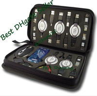 Wholesale Super Cool USB Kit Notebook Tool Kit Travel Bag Classic Cable Mouse Hub Computer MID Laptop PC