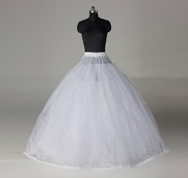Dh 2012 Top Sale Two Hoops For Wedding Dresses White Ball