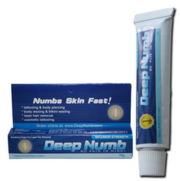 Wholesale 10pcs tattoo Numb Topical Tattoo Anesthetic Cream for tattoo Medical Supply