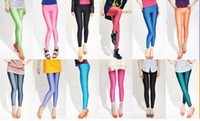 Women Skinny,Slim Other sexy women leggings shiny galaxy leggings girls candy color leggings tights pantyhose lady pants