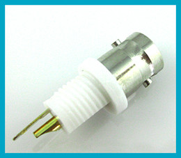 Wholesale 10pcs BNC connector BNC female Jack with solder cup dielectric RF coax connector