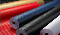 Wholesale carbon fiber sticker carbonfiber wrap carbon vinyl film m colors