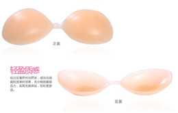 Wholesale Strapless Self Adhesive Silicon Gel Unvisible Bra Nipple Tape Freebra Bras package box
