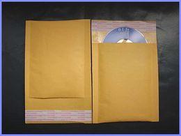 Los buffers de oro de la burbuja de Kraft rellenaron los bolsos de aire 50pcs 4.3 * 5.1 pulgadas 110 * 130m m