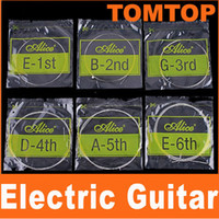 Wholesale Silver Alice A506 Electric Guitar Strings String Set I30 set sets