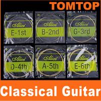 Classical alice string - Alice A106 Classical Guitar Strings String Set I32 set set