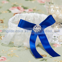 Wholesale Retail Special Wedding Party Stuff Supplies Accessory Royal Blue Sexy Personalized Bridal Garters