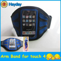 No banding clamp - arm band PHONE holder touch cycling running mesh shaped sports cover clip armband case pouch clamp