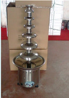 Wholesale 135cm tiers The Biggest Commercial Chocolate Fountain maker W