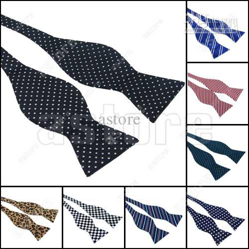 Wholesale 10 Pcs/lot + New Mens Self Tie Bow Tie Designer Pattern Diffrent Styles