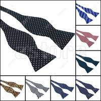 Wholesale 10 New Mens Self Tie Bow Tie Designer Pattern Diffrent Styles