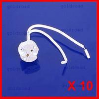 Wholesale Freeshipping MR16 Lamp Holder Lampholder Ceramic Base Socket