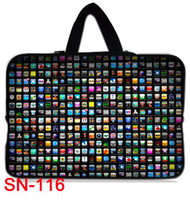 "Cheap 15""-15..6"" inch waterproof laptop sleeve case bag with outside handle for Apple MacBook-116h"