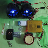 Wholesale Motorcycle FM Radio MP3 Speaker Stereo Amplified Waterproof MOTORCLE ALARM MP3 alarms