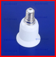 Wholesale Freeshipping E14 to E27 Extend Base LED Light Bulb Lamp Adapter Converter New